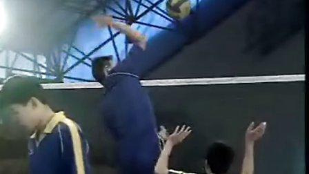 排球视频教学:24(扣前快球、拦网训练、防守训练)