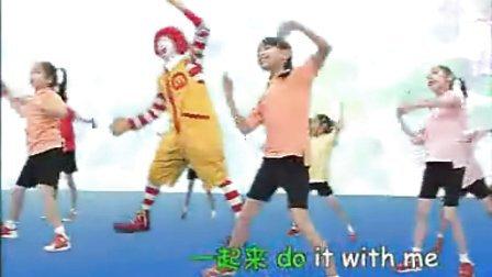 幼儿园小班英语早操《数字健康操 number song》