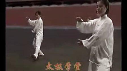 24式简化太极拳教程教学(吴阿敏)c语言视频视屏图片