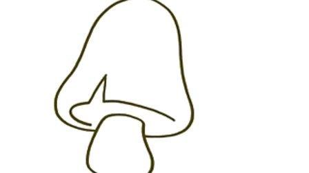 少儿简笔画 第73集-蘑菇
