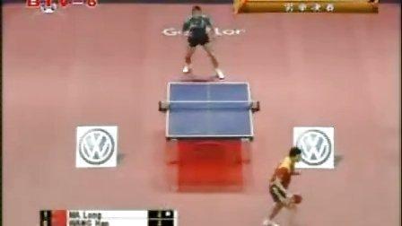 精英乒乓网08国际乒联职业巡回赛总决赛决赛王皓vs马龙