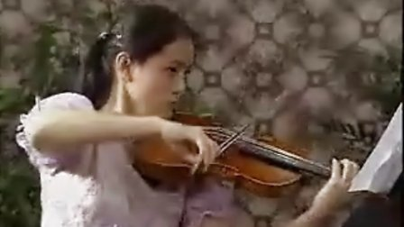 小提琴中国乐曲:新疆之春图片