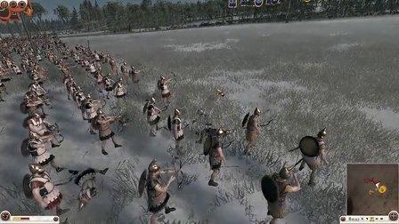 【罗马2全面战争】联机团战:队友随意链接