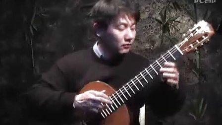 古典吉他 绿袖子