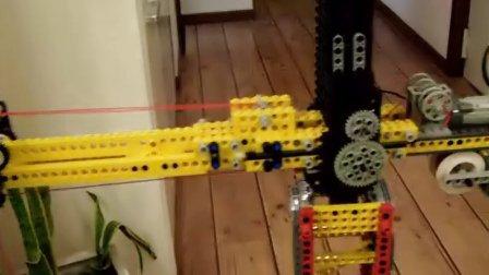 用lego自创的塔吊-第二部分视频视频
