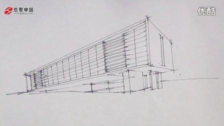 郑州手绘培训绘聚中国建筑草图表现