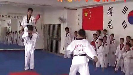 跆拳道馆装修电路布线图cad