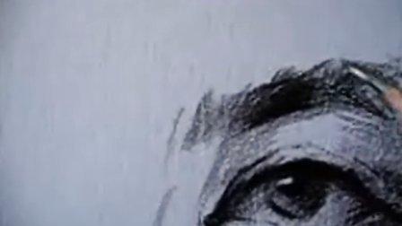 眼睛素描画法3
