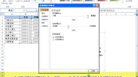 14 - 使用Excel 2007创建工程进度图