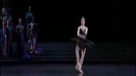 芭蕾舞 天鹅湖 黑天鹅变奏(agnes letestu)