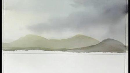 《跟傅兰克学画画》水彩画教程(中文版)