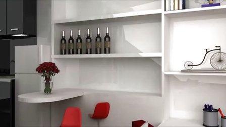 单身公寓设计展示方案