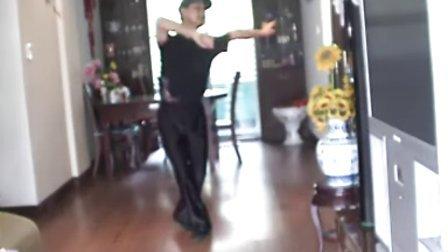 广场健身排舞--高原蓝[演示和教学]