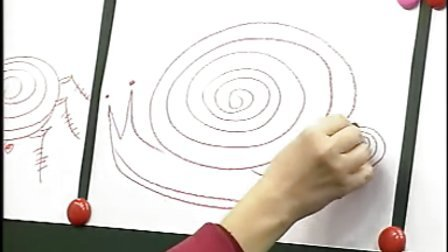 《构成意识幼儿美术教程》之螺旋线画具象形体——小动物