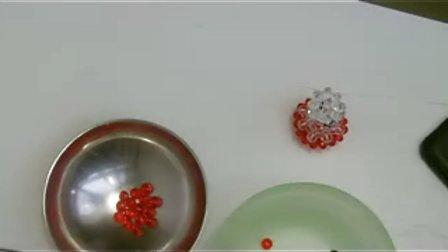 小梅最爱手工--diy水晶串珠苹果核可做手机链车挂包包上挂饰品