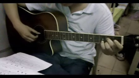少年的梦吉他谱手指按法