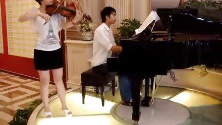小提琴独奏 圣桑《天鹅》
