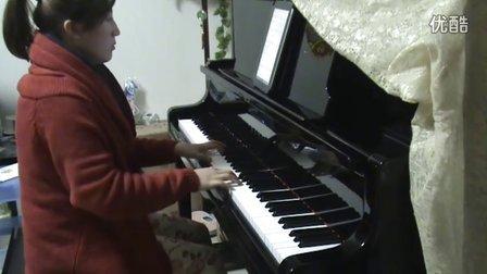 菊次郎的夏天  钢琴视奏版_tan8.com