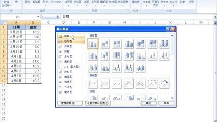 13 - Excel2007中巧设图表时间刻度单位