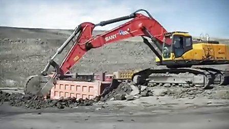 jcm906小挖掘机分配阀图解