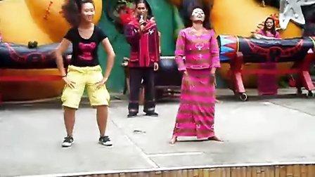 佤族文化艺术矢量图