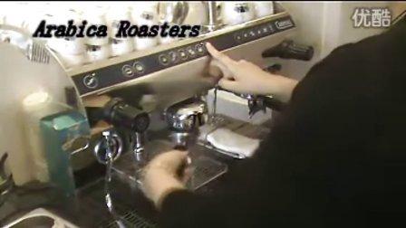 每次咖啡制作后的清洁工作
