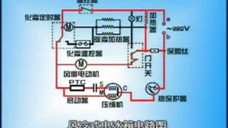 容声冰箱563电路图