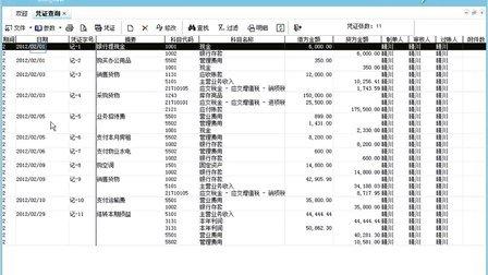 金蝶财务软件易记账教学视频4