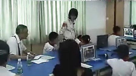 小学英语三年级《School things》教学视频_谢海燕