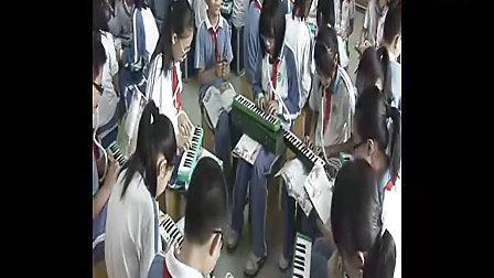小学五年级音乐优质课视频《青春舞曲》花城版_李老师