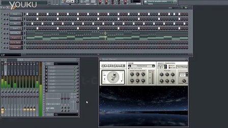 【tallmanchina】fl编曲测试:dw钢琴+动次打次+bass图片