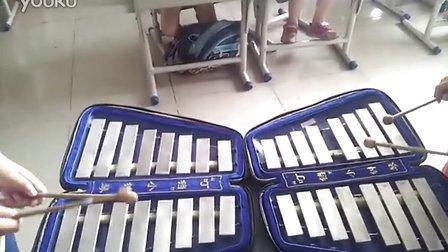 沧海一声笑小钟琴打击乐器