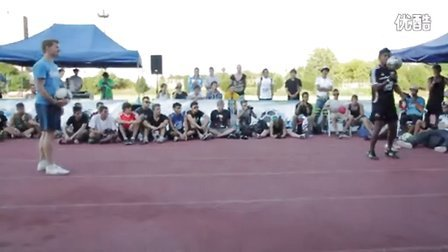 189【足球教学】决赛 Andrew Henderson vs Esteban