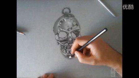 品马克笔手绘视频