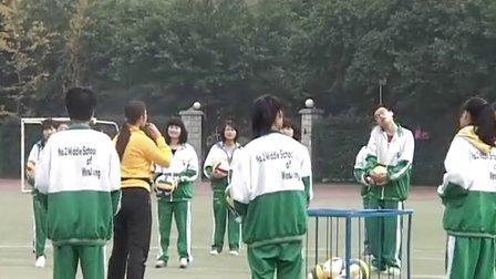 【高清视频】体育高二《排球传球》优质课视频