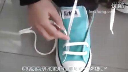 花式穿鞋带步骤图解