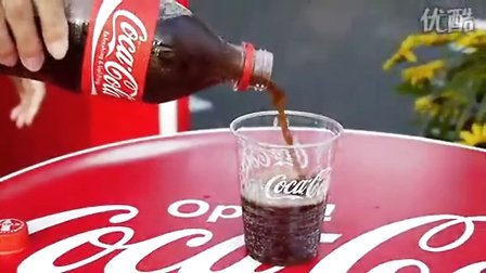 用这样的方法开可乐会结冰