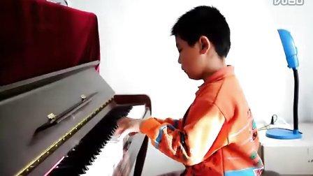 北风吹 噜噜 钢琴