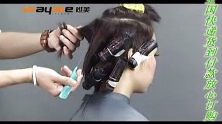 唯美烫发短发BOB数码时尚烫发卷杠男发型可以用发泥吗图片
