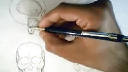 人体结构绘画078 咬肌2