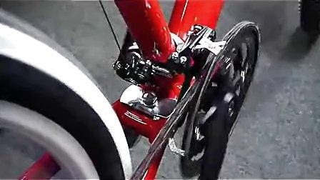 山地车自行车 变速器调试-前拨调试视频