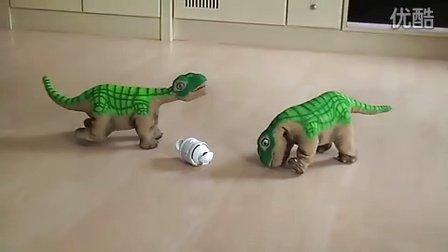 正品若态悬崖史前木制部落视频v正品益智科技拼餐厅积木恐龙图片