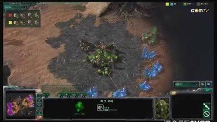 100913 GSL星际2公开赛第七日 TheWinD(Z) vs miso(Z) 02 2010