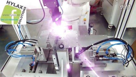 锂电池-激光点焊-连焊-激光焊接图片