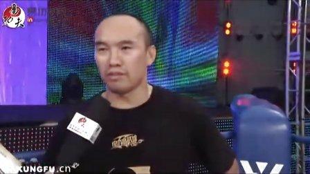 中国UFC第一人张铁泉接受易功夫采访