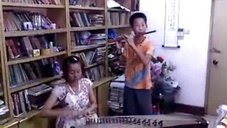 古筝 竹笛 合奏 春到湘江