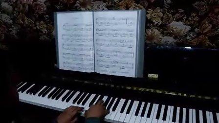 钢琴曲《北风吹》视频