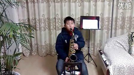 彩云追月萨克斯谱视频