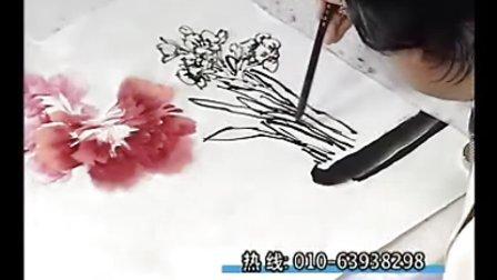 跟徐湛老师学国画 第25章 牡丹花的画法(3)