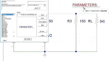 pspice视频教程6:直流扫描分析(4)
